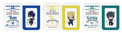 「エリオスライジングヒーローズ in ナンジャタウン ~Cat Hero's Mission!~」ラリーゲーム参加賞:パスケース(全19種)