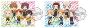 『アニメ「ヘタリア World★Stars」×TOWER RECORDS CAFE』特典ステッカー