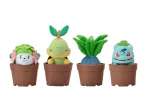 ポケットモンスター「Pokémon Grassy Gardening」ぬいぐるみ