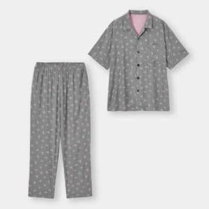 「星のカービィ」×「GU」パジャマ(半袖&ロングパンツ)Kirby +E