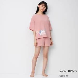 「星のカービィ」×「GU」ラウンジセット(半袖&ショートパンツ)Kirby