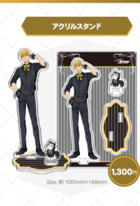 黒子のバスケ Black Style Collection Ver. Kiseアクリルスタンド:1,300円