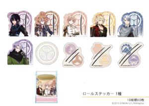 「徳川美術館×刀剣乱舞-ONLINE-」ロールステッカー