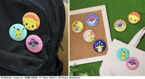 ポケモン 刺繍ブローチコレクション(全8種) 使用イメージ