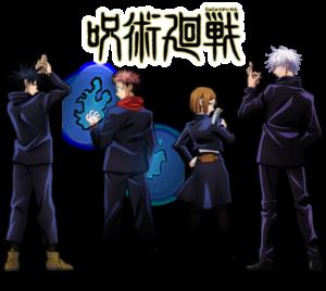 「呪術廻戦×ゼブン-イレブン」描き下ろし