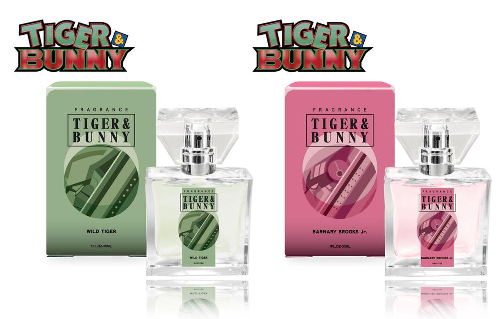 「タイバニ」ヒーロー8人のフレグランス、ワイルドタイガーは芯の強さと優しさに包まれる香り