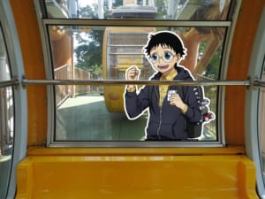 「弱虫ペダル GLORY LINE × 東武動物公園 vol.2」観覧車「エマさんのチーズ風車」