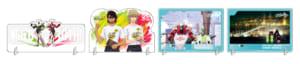「TIGER & BUNNY 10th Anniversary in NAMJATOWN」A賞:アクリルボード