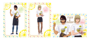 「TIGER & BUNNY 10th Anniversary in NAMJATOWN」店頭購入特典:ポストカード(全3種)