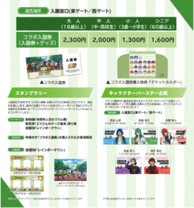 「弱虫ペダル GLORY LINE × 東武動物公園 vol.2」特典付き「コラボ入園券」