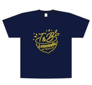 「TIGER & BUNNY 10th Anniversary in NAMJATOWN」カフェロゴTシャツ