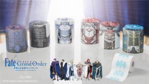劇場版 Fate/Grand Order -神聖円卓領域キャメロット-×フェリシモ円卓の騎士 ロールペーパー
