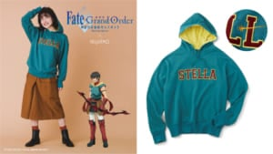 劇場版 Fate/Grand Order -神聖円卓領域キャメロット-×フェリシモアーラシュイメージパーカー