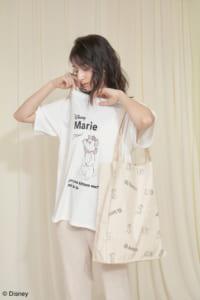 "SNIDEL HOME限定『おしゃれキャット』""マリー"" T-Shirt"
