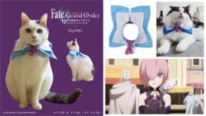 劇場版 Fate/Grand Order -神聖円卓領域キャメロット-×フェリシモフォウ風なりきり猫用首輪
