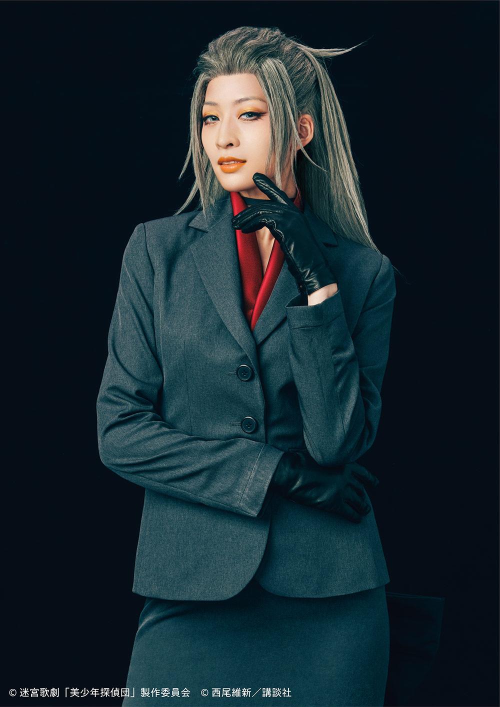 迷宮歌劇「美少年探偵団」麗役:立道梨緒奈さん