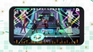「アイドルマスター SideM GROWING STARS」第1弾PV_リズムゲーム