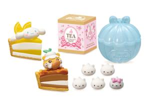 「サンリオキャラクターズ KAWAII CAKE SHOP」タルトでお茶会