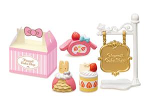 「サンリオキャラクターズ KAWAII CAKE SHOP」当店の定番ケーキ