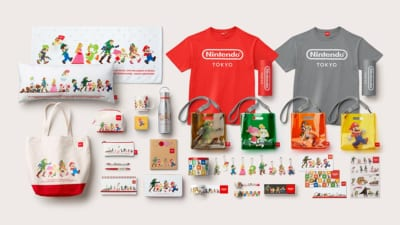 Nintendo TOKYO POP-UP STORE商品一部