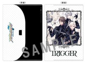 『TRIGGER × NO ANiME, NO LiFE.』コラボキャンペーン 初回限定盤B特典フタ付クリアファイル