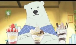 しろくまカフェ:シロクマくん