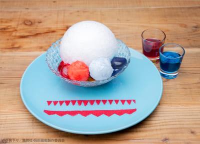 「呪術廻戦カフェ」五条悟「氷菓『茈』」