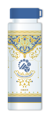 「刀剣乱舞×日東紅茶」山姥切長義コラボパッケージ オリジナルクリアボトル