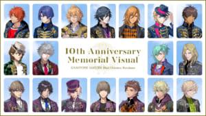 「うたプリ」倉花千夏先生撮り下ろし「10th Anniversary Memorial Visual」