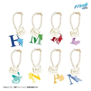 タイトーくじ本舗「劇場版 Free!-the Final Stroke-」~Summer Beach~F賞:バッグチャーム