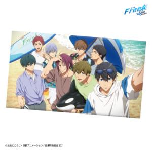 タイトーくじ本舗「劇場版 Free!-the Final Stroke-」~Summer Beach~ラストハッピー賞:描き下ろしマルチクロス