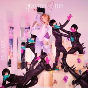 蒼井翔太さん13thシングル「give me ♡ me」初回限定盤ジャケット