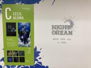 ④Shining Dream Fest. NIGHT DREAM 壁面展示