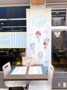 「うたプリ×アニメイトカフェ」カルナイづくしな席