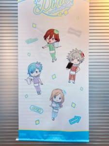 「うたプリ×アニメイトカフェ」店内装飾(QUARTET NIGHT)