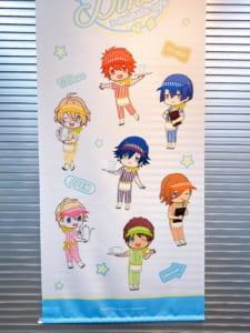 「うたプリ×アニメイトカフェ」店内装飾(ST☆RISH)