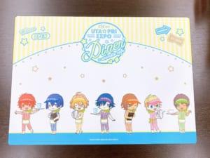 「うたプリ×アニメイトカフェ」テーブル:ST☆RISH