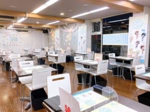 「うたプリ×アニメイトカフェ」店内装飾(後方)