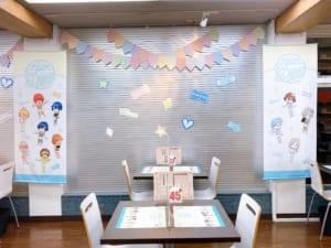 「うたプリ×アニメイトカフェ」店内装飾(横)