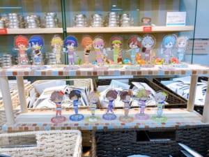 「うたプリ×アニメイトカフェ」グッズコーナー:アクリルスタンド