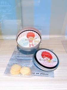 「うたプリ×アニメイトカフェ」グッズコーナー:缶入りクッキー