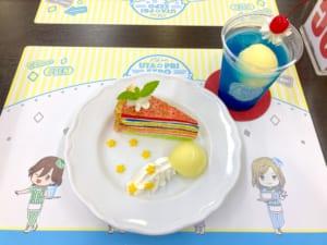「うたプリ×アニメイトカフェ」コラボメニュー