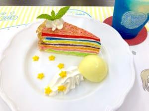「うたプリ×アニメイトカフェ」ST☆RISHのRAINBOW CAKE アナザーカット