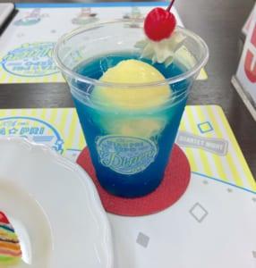 「うたプリ×アニメイトカフェ」ST☆RISHのクリームフロート【MASATO】アナザーカット