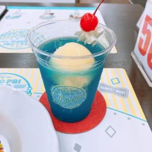 「うたプリ×アニメイトカフェ」ST☆RISHのクリームフロート【MASATO】