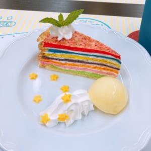 「うたプリ×アニメイトカフェ」ST☆RISHのRAINBOW CAKE