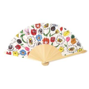 「EGUMI」HAPPY FLOWER 扇子