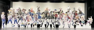 「アイドルマスター オフィシャルショップ ~315!!!SHOP(サイコーショップ)~等身大パネル集合