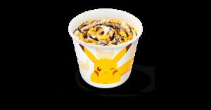 「ポケットモンスター×マクドナルド」マックフルーリー® チョコバナナ味