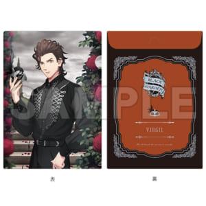 「HE★VENS GARDEN」HE★VENS 封筒型クリアファイル BLACK GARDEN Ver. 桐生院ヴァン as ヴァージル